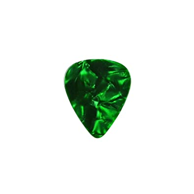 Verde púa de guitarra Pin de solapa: Amazon.es: Joyería