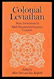 img - for Colonial Leviathan: State Formation in Mid-Nineteenth-Century Canada book / textbook / text book