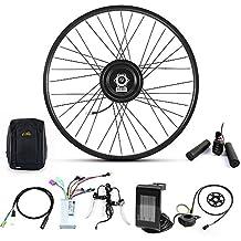 "500W 36V/48V Hub Motor Electric Bike Conversion Kit for Kinds of Bicycle 20"" 24"" 26"" 27.5"" 700C Rear Wheel"