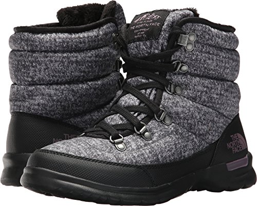 The North Face Women's Thermoball Lace II Burnished Houndstooth Print/Black Plum (Past Season) 7 B US