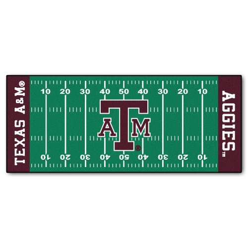 FANMATS NCAA Texas A&M University Aggies Nylon Face Football Field -