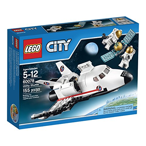 LEGO City Space Port 60078 Utility Shuttle Building Kit by LEGO
