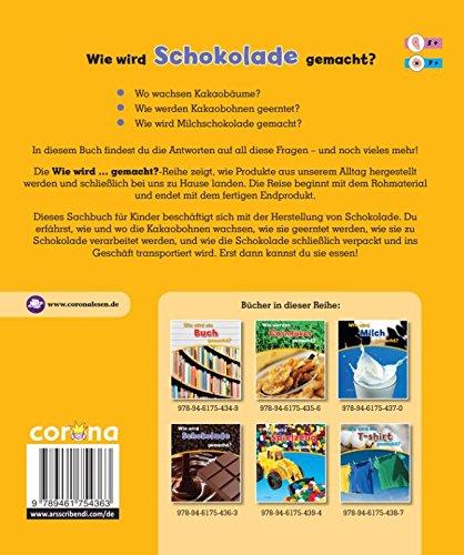 Wie wird Schokolade gemacht? (Wie wird ... gemacht?): Amazon.de ...