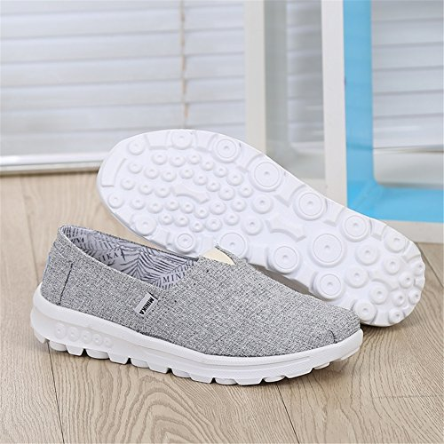 Chaussures Slip Shake Chaussures Casual Une Chaussures amp; C Fitness Maille Conduite Printemps Secouer Plat Athltiques Shake Ons Chaussures Sneakers Chaussures Mocassins Femmes Automne Chaussures Mocassins d7qPnwxHYp