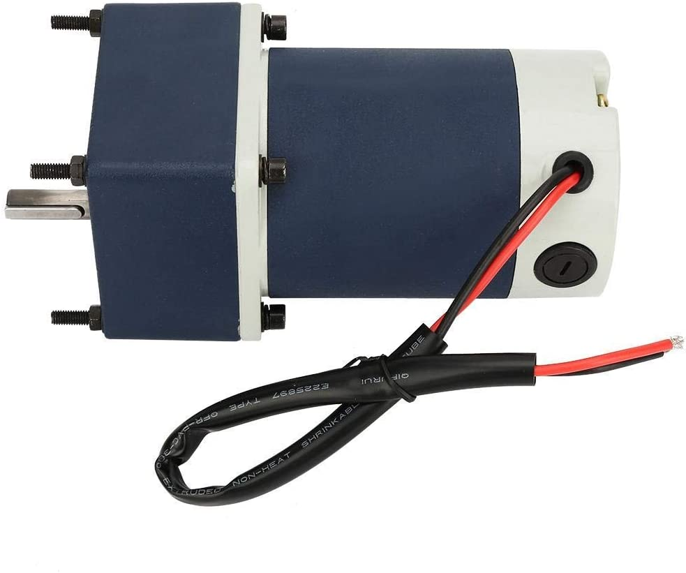 5,420RPM SH-CHEN Permanent Magnet Motor Industrial Motors DC24V 60W Adjustable Speed Geared Motor High Torsion Metal Gear Motor