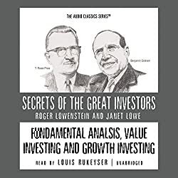 Fundamental Analysis, Value Investing, and Growth Investing