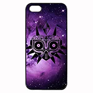 The Legend of Zelda Majora's Mask Galaxy Custom Diy Unique Image Durable Rubber Silicone Case for Iphone 5 5S Case