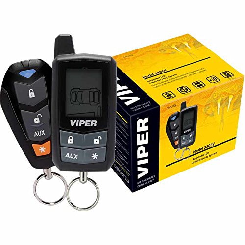 Viper 3305V Responder LCD 2-Way Security System with Keyless Entry by Viper