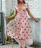 BABiyQvQ Women Strawberry Sweet Dress Sexy Deep