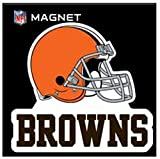 """Stockdale Cleveland Browns SD 6"""" Logo Magnet Die Cut Vinyl Auto Home Heavy Duty Football"""