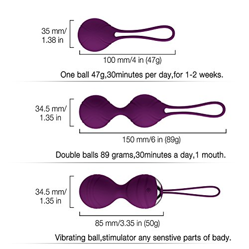 Abandship-2-in-1-Kegel-Balls-Kit-Massager-Ben-Wa-Balls-for-Women-Silicone-Wireless-Remote-Control-Massager-Rechargeable-Pelvic-Floor-Exercises-Kegel-Exercise-Weights