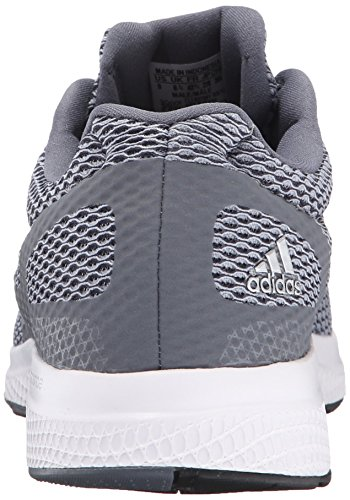 adidas Rendimiento Hombre Mana Bounce Zapatilla de Running Grey/Metallic Silver/Black
