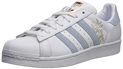 adidas Womens Superstar Leather Trainers: Amazon.co.uk