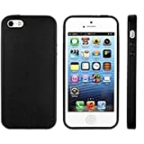 Apple iPhone 5s Black Leather Case MF045LL/A