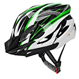 retro 11 red and black - JBM Adult Cycling Bike Helmet Specialized for Men Women Safety Protection CPSC Certified (18 Colors) Black/Red / Blue/Pink / Silver Adjustable Lightweight Helmet with Reflective Stripe and Removal