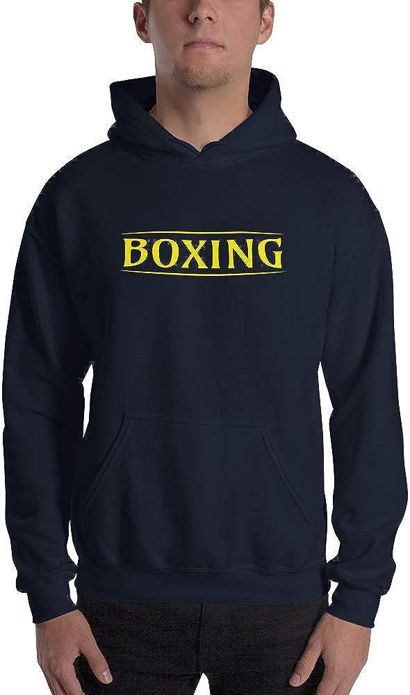 Viam Star Boxing Authentic Sweatshirt Sweater Pullover-Unisex Hoodie Navy