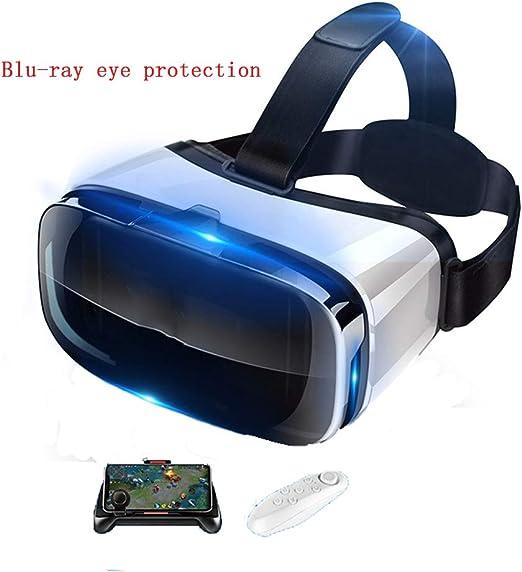 YANJINGYJ 3D Gafas VR Gafas de Realidad Virtual, Montado en la ...