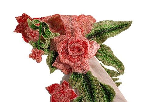 Beauty7 Florales Bordado Tirantes Vestidos Mujer Profundo V Cuello Chalecos Vestidos Midi Skirt Dress Falda Elegante Casual Bodycon Verano Coctel Partidos Fiestas Bar Ocasionales