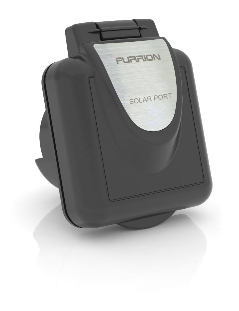 Furrion FSPINS-BS Black RV Solar Port Inlet