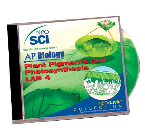 Neo/SCI Plant Pigments and Photosynthesis Neo/LAB AP Biology Software, Individual License