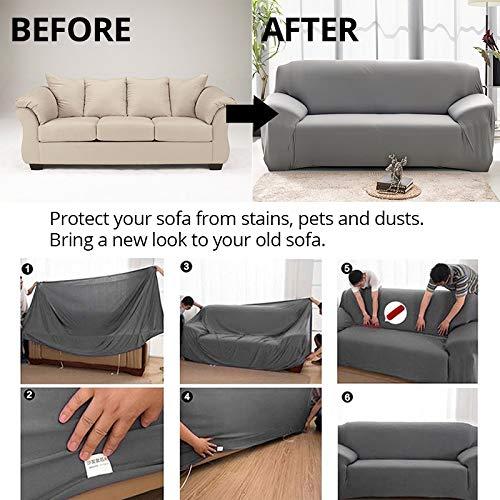 XFC-FSY, Funda de sofá elástica para salón, Funda Universal ...
