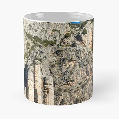 Temple Of Greece Greek Archaeology Archeology History Historic Culture Ancient Stones Columns - Best 11 oz Coffee Mug Cheap Gift