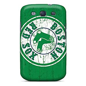 Protector Hard Phone Covers For Samsung Galaxy S3 (hTV6378bDrt) Unique Design Beautiful Boston Red Sox Pictures