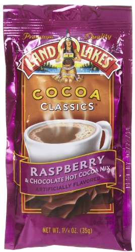Land O Lakes Cocoa Classics Raspberry 1.25 oz pouches 24 Pack (Cocoa Chocolate Raspberry)
