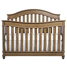 Evolur Hampton  5 in 1 LifeStyle Convertible Crib in Vintage Grey