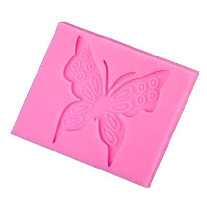 suboer mariposa molde de silicona Sugarcraft Fondant Decoración de Pasteles Herramientas chocolate molde para galletas para