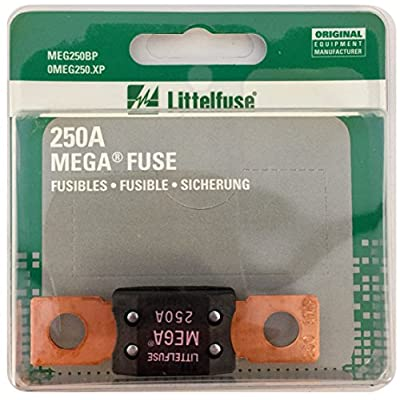 Littelfuse MEG250XP MEGA Slo-Blo Automotive Bolt-Down Fuse: Automotive
