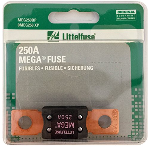 Littelfuse MEG250XP MEGA Slo-Blo Automotive Bolt-Down Fuse (Fuse Down Blo Bolt Automotive)