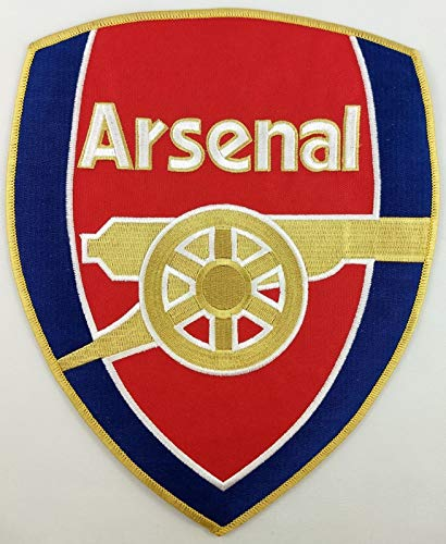 Embroidery Patch Arsenal Football Club Soccer Badge Applique XX Large 7 3/8