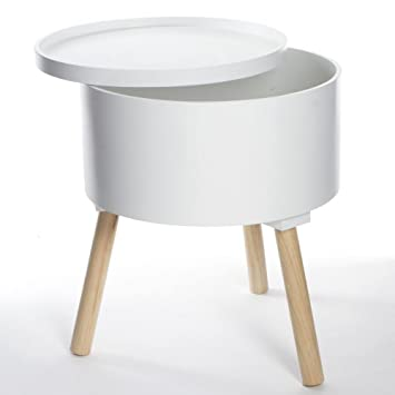 Atmosphera 2 En 1 Table Basse Coffre De Rangement Style