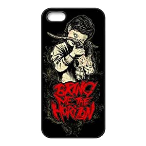 Fashion Bring Me to The Horizon Personalized iPhone 5 5S Rubber Gel Silicone Case Cover
