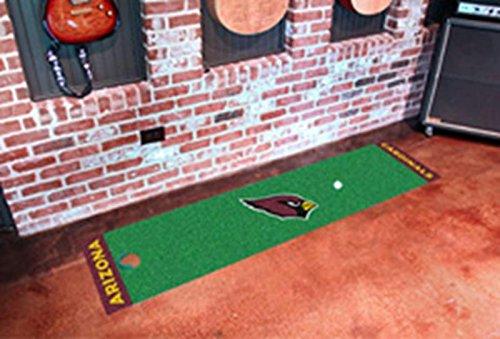 Cardinals Golf Putting Green - Fan Mats Arizona Cardinals Putting Green Runner, 18