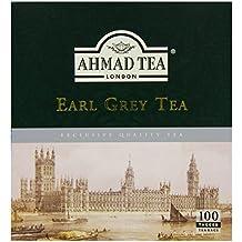 Ahmad Tea Earl Grey (Pack of 1, Total 100 Tea Bags)