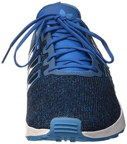 adidas Zx Flux Adv, Zapatillas para Hombre Azul (Uniblu/Crablu/Ftwwht)