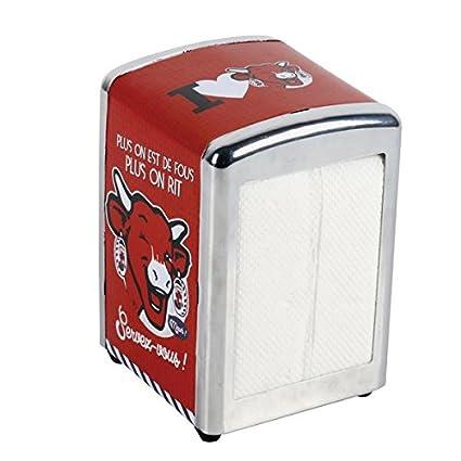 Dispensador de servilletas de la Vaca Que ríe ®