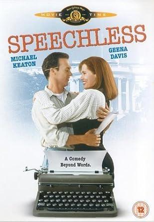 Speechless [DVD] by Michael Keaton: Amazon.es: Buddy Rogers ...