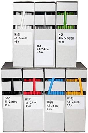 Tubo/Termo Retr/áctil 7,5m ; 2:1 6,4-3,2mm ; Termorretr/áctil ; Azul