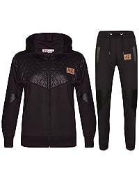 Kids Tracksuit Girls Boys Designer's A2Z Project Zipped Top Bottom Jogging Suit