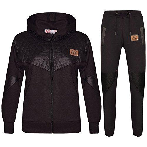 Project Designer (Kids Tracksuit Girls Boys Designer's A2Z Project Zipped Top Bottom Jogging Suit)