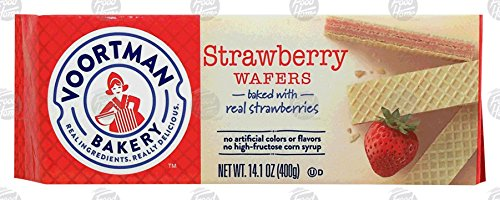 (Voortman Bakery Strawberry Wafers 14.1 oz.)