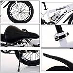 XHJZ-Adulto-Bambino-della-Bici-di-Montagna-della-Bicicletta-Doppio-Freno-a-Disco-in-Acciaio-al-Carbonio-Bike-21-velocit-Hardtail-Mountain-BikeBianca24-inch