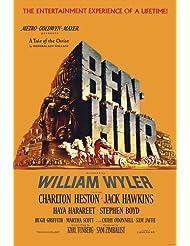 Charlton Heston in Ben-Hur classic chariot race epic 24x36 Poster