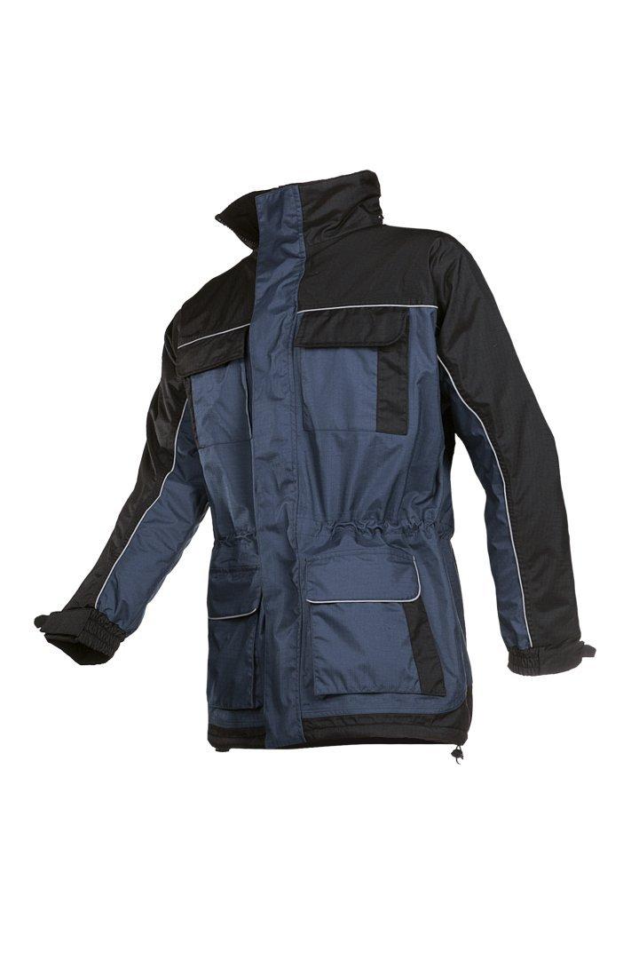 SIOEN 436AA2CX33432XL - Chaqueta de invierno (talla XXL), color azul marino y negro