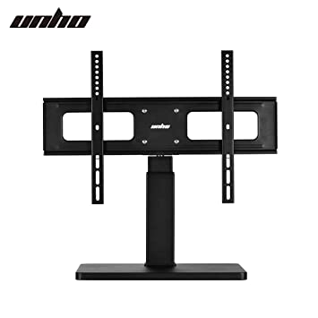UNHO Pedestal TV Stand with Bracket Universal Table Top Amazon