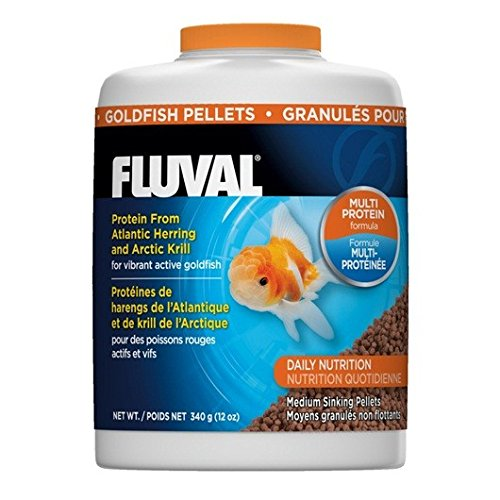 (340gm Fluval Goldfish Pellets,)