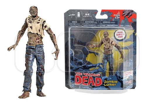 2011 Walking Dead Zombie Lurker Mcfarlane Action Figure Series (1) One - Scarce!!! Hot!!!